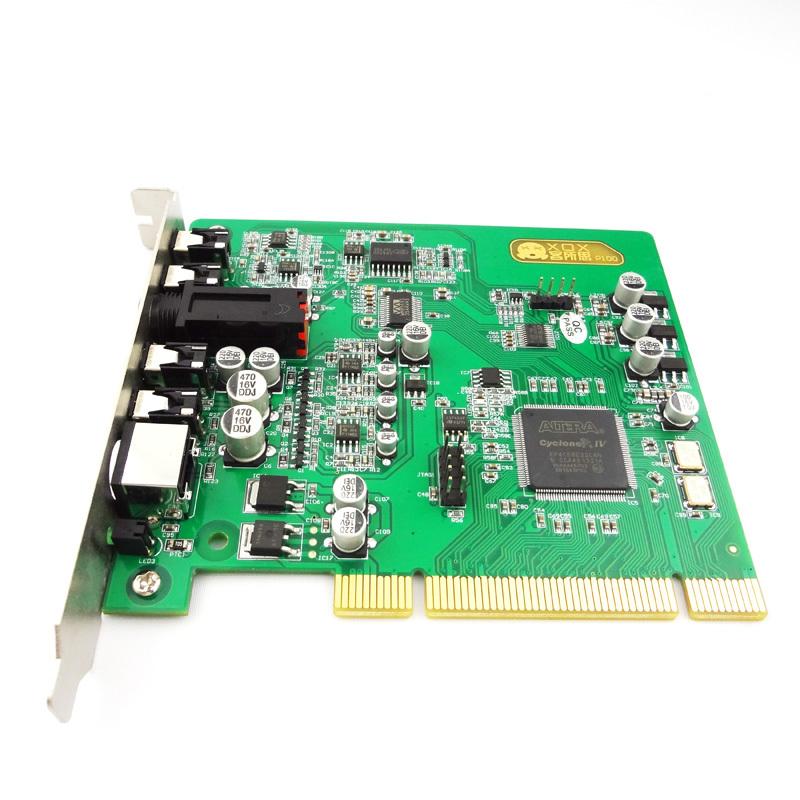 商城 声卡/客所思P100内置声卡电脑网络K歌声卡PCI插槽电音魔音声卡包...